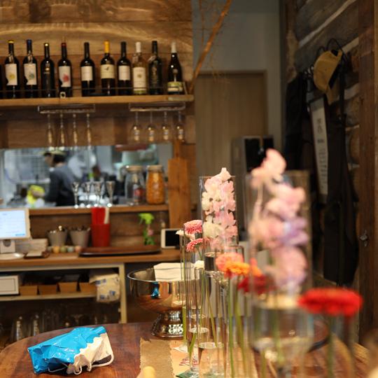 フラワーカフェ hanau cafe
