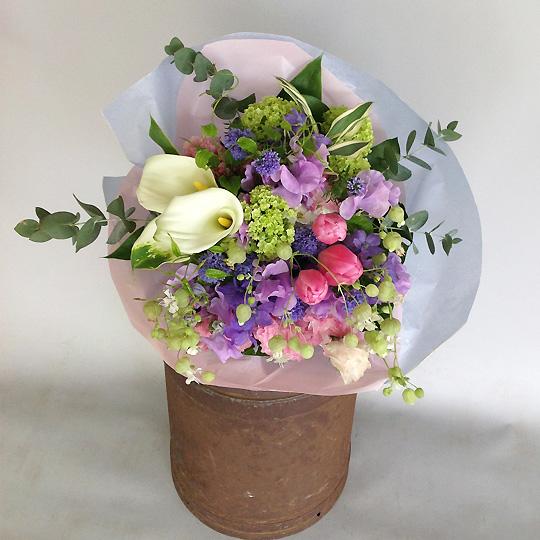 花束,パープル