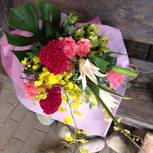 花束,おまかせ