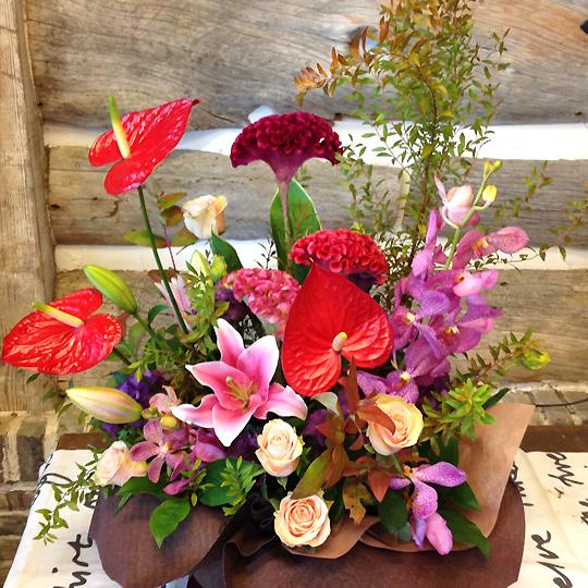 敬老の日,生花,アレンジメント