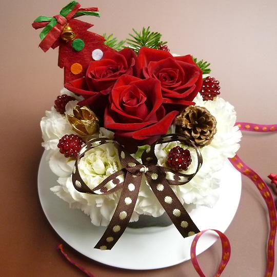 クリスマス,フラワーケーキ,限定,ショコラ