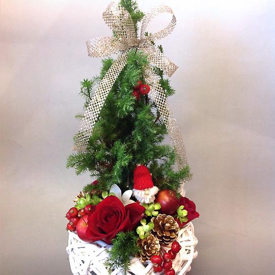 クリスマスツリー,トピアリーアレンジメント