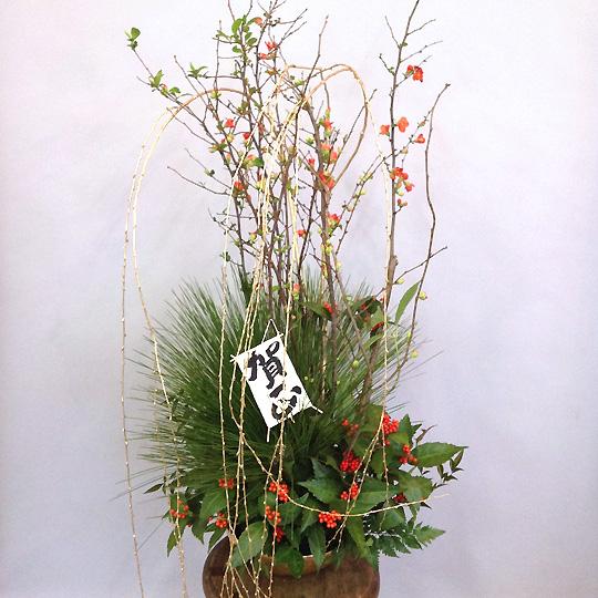 お正月,年賀,大王松のアレンジメント